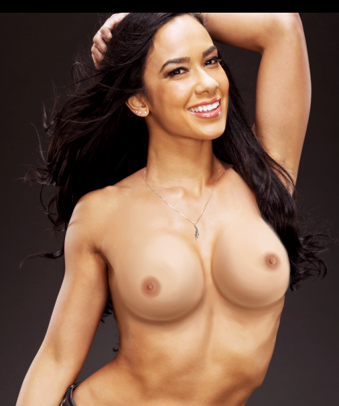 AJ Lee celebrities naked