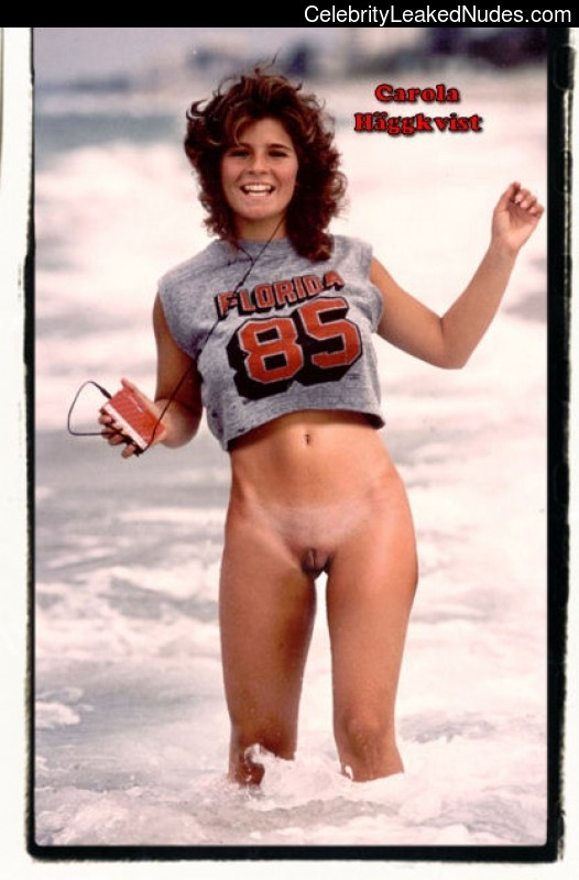 Carola Haggkvist Best Celebrity Nude sexy 30
