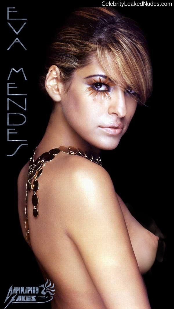 Eva Mendes Naked celebrity picture sexy 1