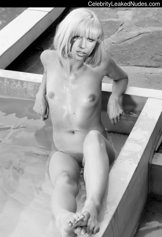 Lady Gaga fake nude celebs