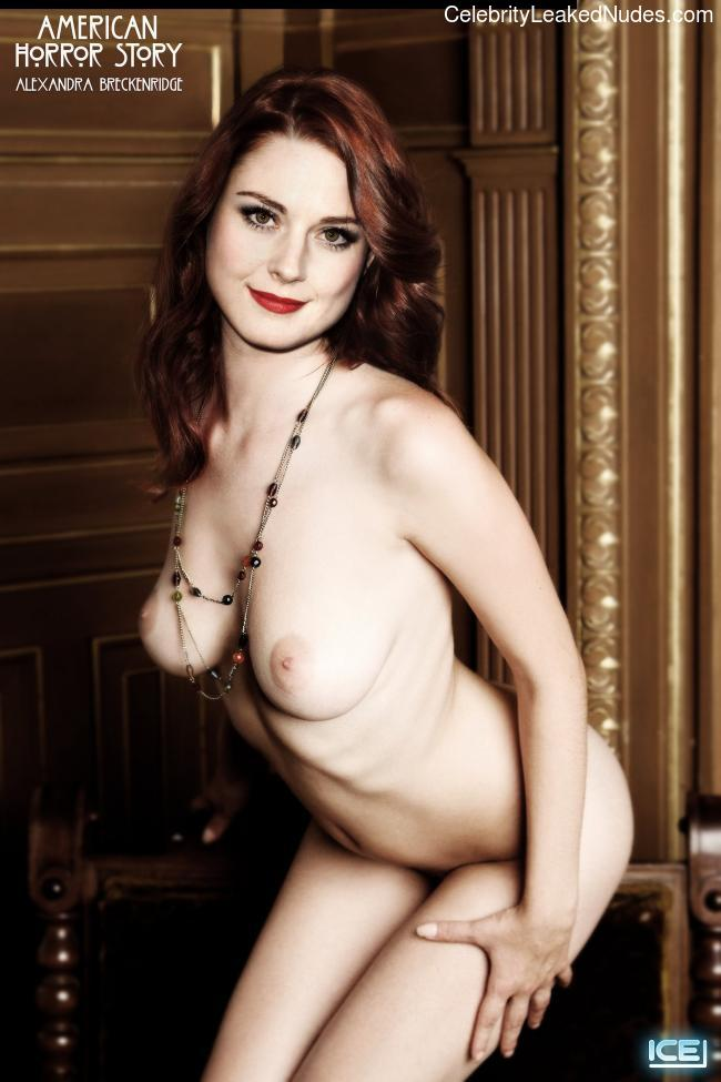 Alexandra Breckenridge Nude